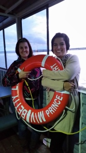 Life jackets are available at an arms reach!