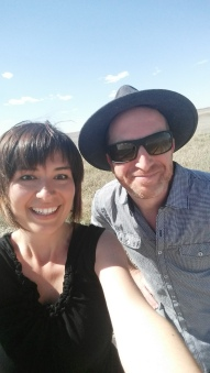 Selfie with Robin Esrock!
